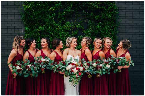 Cadillac Service Garage Bridal Party