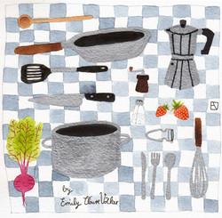 some kitchen ware
