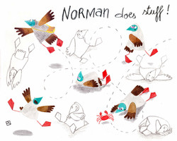 Norman does stuff!