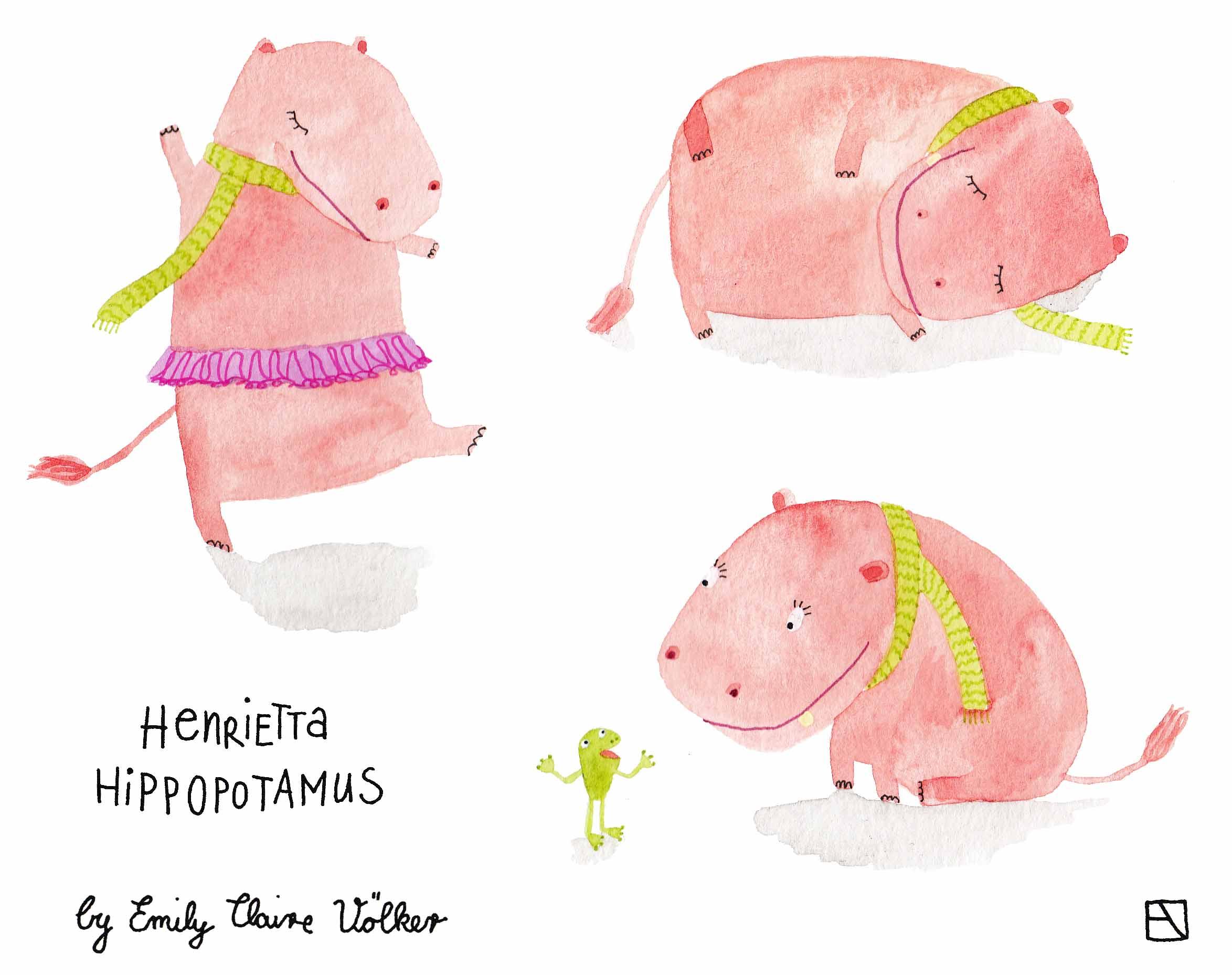 Henrietta Hippopotamus