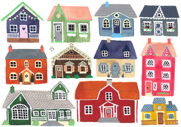 Random Cute Houses