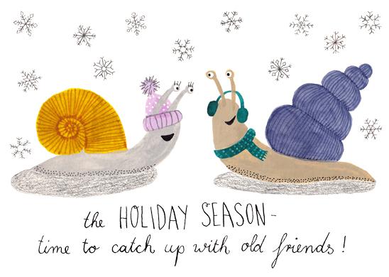 Christmas Snails
