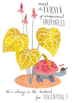 The Turtle of Unequivocal Happiness!