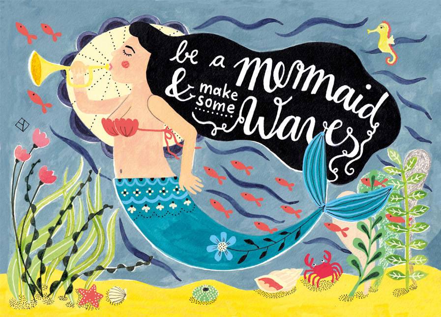Be a Mermaid & make some Waves!