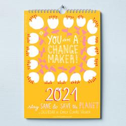 You are a Change Maker Calendar 2021