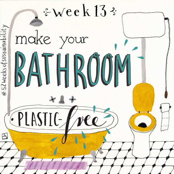 Bathroom plastic free