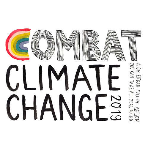 Combat Climate Change 2019 (illustrated Calendar)
