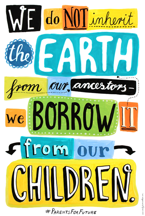 We Borrow The Earth.