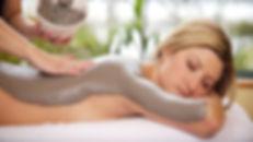 mud-pack massage