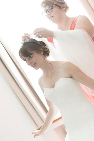 Vorbereitungen Braut, Hochzeitsfotograf Basel
