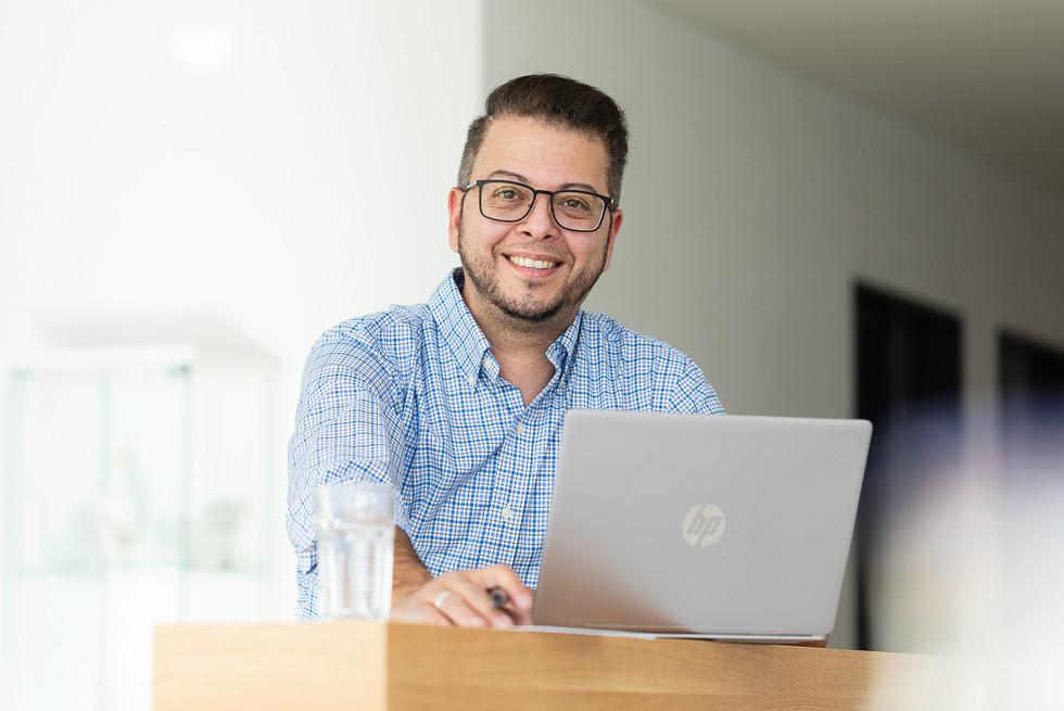 Businessportrait on location bei Dir zu Hause