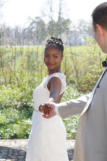 Brautpaar in Merian Gärten