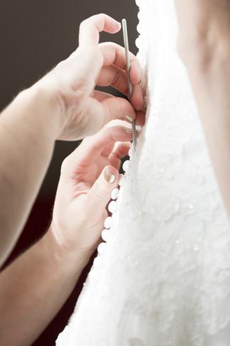 Vorbereitungen Braut, Detailaufnahme Hochzeitsfotograf Basel