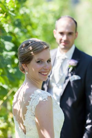 Brautpaarshooting in den Reben