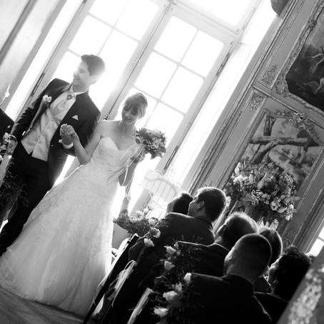 Hochzeit auf Schloss Binningen und in der Villa Wenkenpark, Riehen