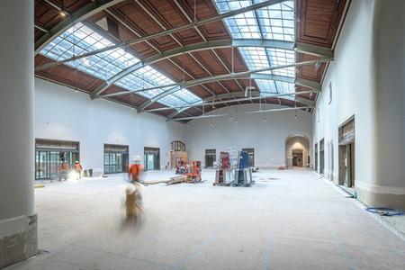 Eingangshalle des Westflügel Bahnhof SBB Basel, Baudokumentation für die CSG Baumanagement AG Basel