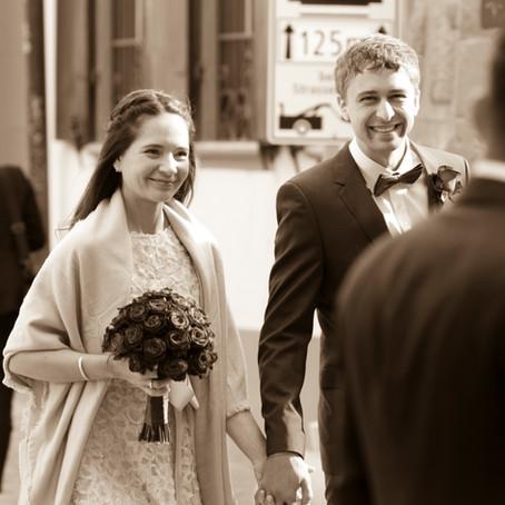 Zivile Hochzeit auf dem Standesamt Basel