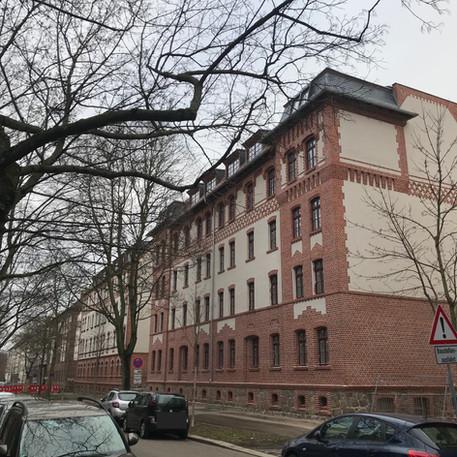 Ostheimstraße 7 A + B, 11 A + B, 13 A + B, Leipzig, Außenputz, Fassadenarbeiten, Innenputz, Fliesenarbeiten