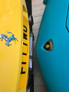 Ferrari 458 Speciale Aperta and Lamborghini Aventador SV