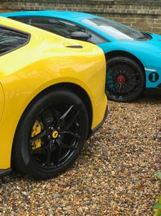 Ferrari F12 and Porsche GT4