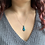 Thumbnail: Blue Copper Turquoise Necklace