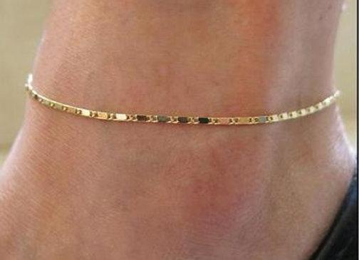 Gold Chevelle Anklet