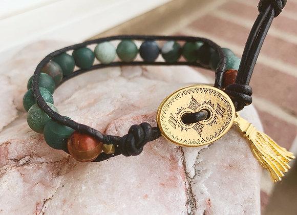 Moss Wrap Bracelet