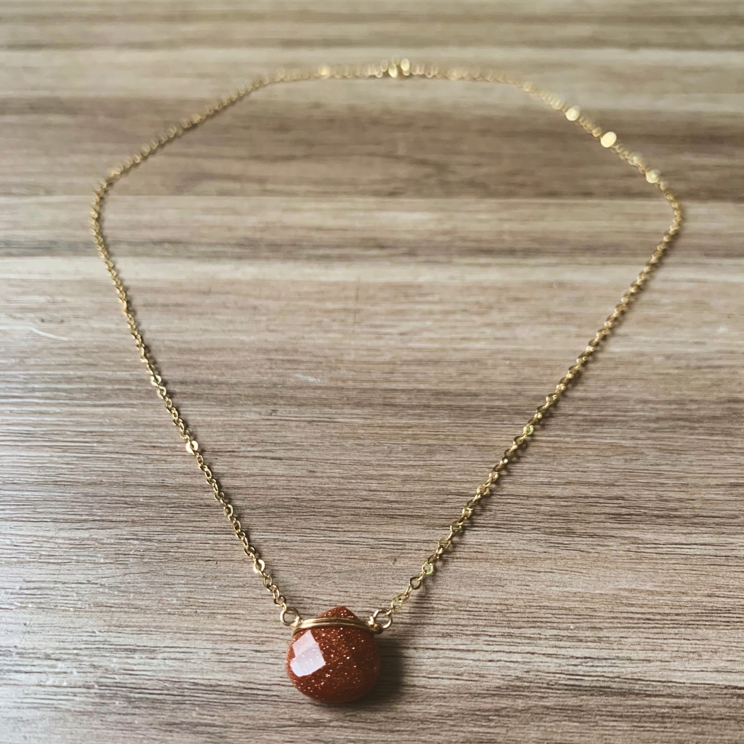 Thumbnail: Sunstone Necklace