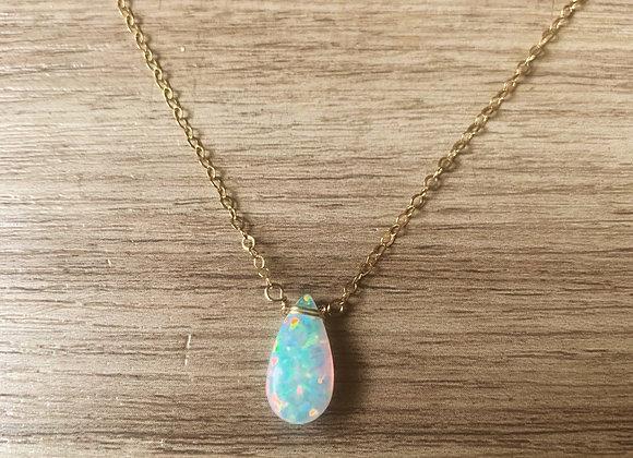 Opal Teardrop