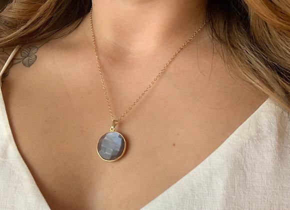 Iridescent Lilac Moonstone