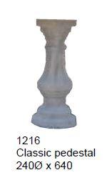 pedestal - classic