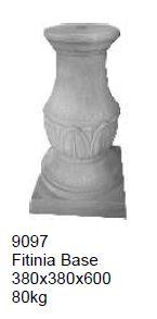 pedestal - fitinia base