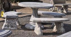 Spanish table plain 11 piece
