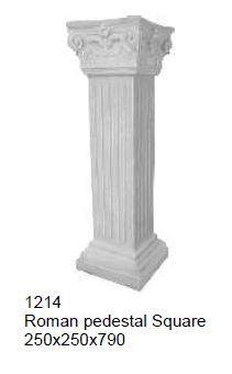pedestal - roman sq