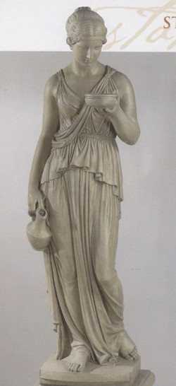Ebe Statue (new) no 575