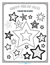 4th of July Activities: Coloring Pages, Headband Craft, & More!