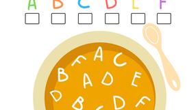 Alphabet Soup: Coloring Activity