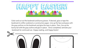 Happy Easter! Scavenger Hunt, Activity Packet, and Headband/Puppet Craft