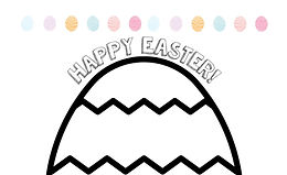 Decorate the Easter Egg: Cut-and-Paste Card