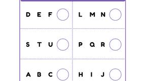 What Comes Next? Alphabet Practice