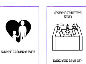 Father's Day DIY Storybook