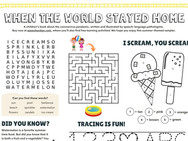 Hello, Summer! Activity Sampler (One-Page)