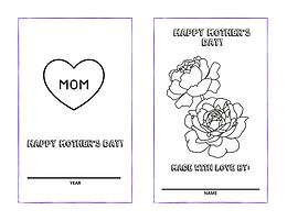 Mother's Day DIY Storybook