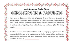 Short Stories: Christmas, Hanukkah and Kwanzaa in a Pandemic
