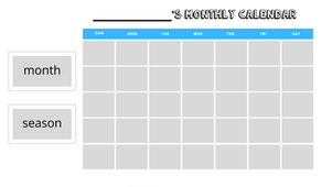 Cut-and-Paste Daily Calendar
