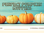 Autumn Recipes: Apple & Cinnamon Pancakes, Pumpkin Muffins