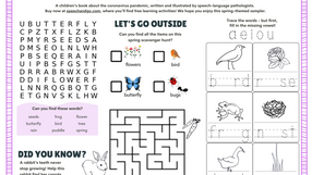 Welcome Spring Activity Sampler (One-Page)