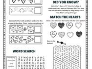 Valentine's Day Activity Packet!