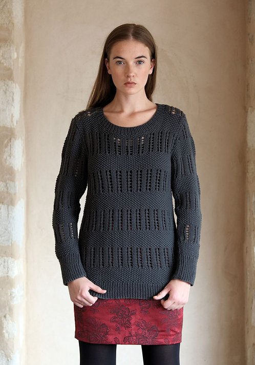 324 Two Textures Sweater - digital download