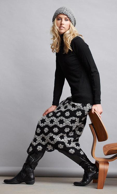 066 Crochet Hexagon Skirt 1 -digital download
